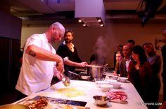 Alessandro Pavoni @ Casa Barilla cooking school