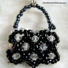 Learn  Bead Jewelry on Diamond Charm   Bead Jewelry Making