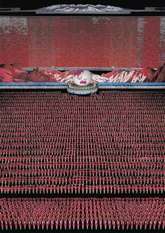 Costly Crowd Art - Andreas Gursky is a well known architectural and perspective photographer who holds the record for selling the most expensive photograph. The work . Andreas Gursky, Magnum Opus, Aerial Photography, Fine Art Photography, Photography Gallery, Photography Magazine, Urban Photography, Unusual News, Blog Design Inspiration