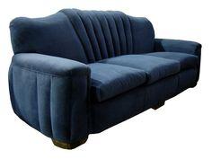 American Art Deco Sofa. 1930's. @designerwallace