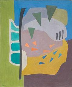 Artwork by Charlotte Wankel, Komposisjon, Made of Oil on canvas De Kooning, Auction, Elaine De Kooning, Leonora Carrington, Oil On Canvas, Canvas, Abstract Art, Artwork, Abstract