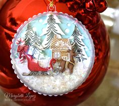This one has just one more Christmas button from Hobby Lobby marybethstimeforpaper.blogspot.com