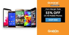 Smart Buy at #Ezone and Save 55% On All Mobile Phones. Grab Now - http://www.grabon.in/ezone-coupons/ #SaveOnGrabOn