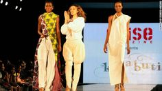 Africa on the catwalk, by Kinabuti