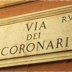 Curiosità sui nomi delle vie di Roma