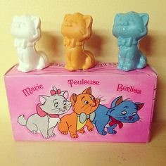 CUTE!!! Vintage Aristocat Kitten soap.