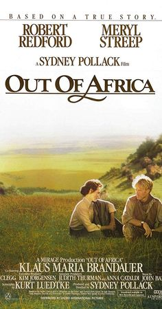 Directed by Sydney Pollack. With Meryl Streep, Robert Redford, Klaus Maria Brandauer, Michael Kitchen. In colonial Kenya, a Danish baroness/plantation owner has a passionate love affair with a free-spirited big-game hunter. Klaus Maria Brandauer, Classic 80s Movies, Sydney Pollack, Michael Kitchen, Joseph Fiennes, Driving Miss Daisy, The English Patient, Shakespeare In Love