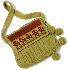Free Knitting Pattern - Bags, Purses & Totes: Lucca Bag