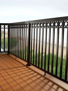 Best Pegatha Aluminum Deck Railing In Black Pegatha Aluminum 400 x 300