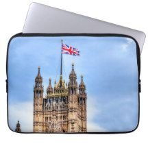 Westminster Palace, London, England Laptop Sleeves