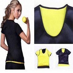 #Women #fashion shapers #t-shirt stretch neoprene slimming body vest tops yoga ,  View more on the LINK: http://www.zeppy.io/product/gb/2/371613177389/