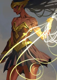 ArtStation - Princess of Themyscira, Nesskain hks