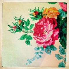 New wall paper vintage rose flower patterns ideas