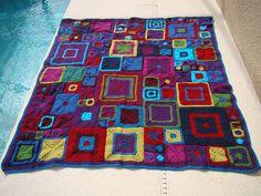 <3 the jewel tones; Ravelry: Lisatinbath's Jewelry Babette --- link to the pattern