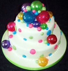 This is the cake I want to make for (My Niece) Kalie's Birthday :) :) It has sugar bubbles on it!!! I hope I get good at making sugar bubbles by then :)  Google Image Result for http://cupcake4today.files.wordpress.com/2010/03/bubble-cake.jpg