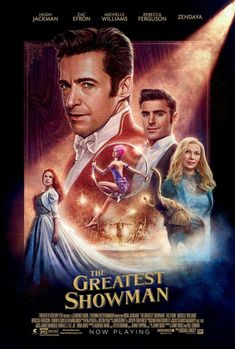 Print The Greatest Showman Hugh Jackman, Michelle Williams, Zac Efron movie poster #ad #Etsy #greatestshowman