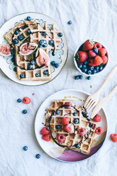 Wholesome Vegan Waffles