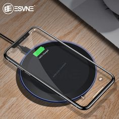 Searching for Ultra Slim Fast Qi Wireless Charger. 💗 ESVNE Qi Wireless Charger for iPhone X Xs Max XR 8 plus Fast Charging for Samsung Plus Note 9 8 USB Phone Charger Pad. Buy Now at Joshy's Marketplace. Samsung Galaxy Note 8, Galaxy S7, Smartphone, Usb, Poster Price, Smartwatch, Radios, Portable Pas Cher, Camera Gear