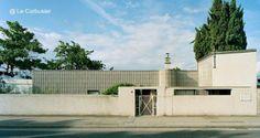 Casa para los padres del gran maestro de la arquitectura en Corseaux, al borde del lago Villa Le Lac diseño de Le Corbusier en Suiza 1923-24