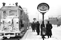 frozen tram in wwii vienna.