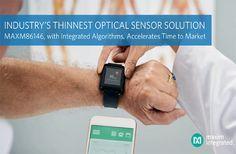 Maxim's MAXM86146 Dual-Photo Detector Optical Sensor Vital Signs, Electronics Components, Integrity, Fitbit, Health Fitness, News, Fitness, Data Integrity