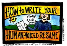 """How to Write a Human-Voiced Resume 
