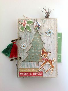 Christmas mini álbum