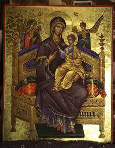 Byzantine Icons, Orthodox Icons, Religious Art, Ancient Greek, Madonna, Catholic, Religion, Faith, Painting