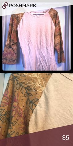 Randy Tee GUC, made in Guatemala LuLaRoe Tops Tees - Long Sleeve