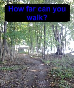 How far can you walk cover Survival Prepping, Lessons Learned, Walking, Exercise, How To Plan, Big, Cover, Jogging, Ejercicio