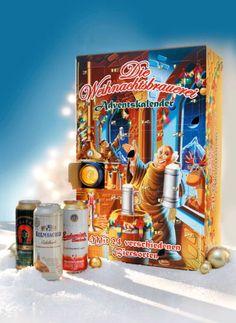 #Bier #Adventskalender Frosted Flakes, Box, Amen, Painting, Glee, Random Stuff, Christmas, Presents, Photo Illustration