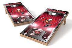 Tampa Bay Buccaneers Single Cornhole Board - Plate