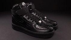 "Nike Women's Air Force 1 High ""Black Croc"""