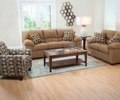 I Found A Simmons Verona Chocolate Chenille Living Room Furniture  Collection At Big Lots For Less