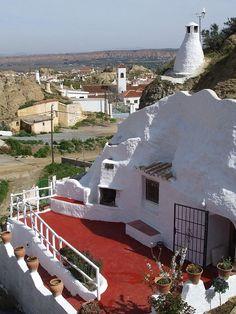 Gite insolite troglodyte en Andalousie, Espagne