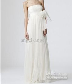 Wholesale A-Line Wedding Dresses - Buy 2013 New Style Wiping a Bosom Fashion Pure White Grow a Glyph Sweep the Floor Wedding Dress, $181.82   DHgate