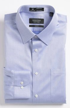 Free shipping and returns on Nordstrom Smartcare™ Trim Fit Twill Dress Shirt at Nordstrom.com. Easy-care cotton shapes a classic dress shirt fitted with a measured spread collar and rounded, adjustable button cuffs.