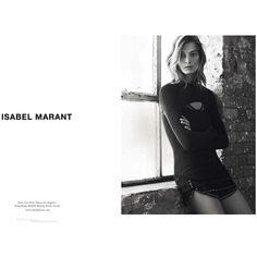 Isabel Marant Ad Campaign Spring/Summer 2013 Shot #5 - MyFDB ❤ liked on Polyvore featuring ad campaign