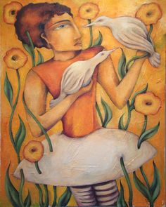 "Same as Change original oil on canvas 24""x32"" artist Erin Duquette"