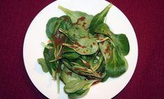 Feldsalat mit Honig-Senf-Balsamico Dressing - Rezept