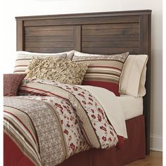 Signature Design by Ashley Quinden Wood Headboard