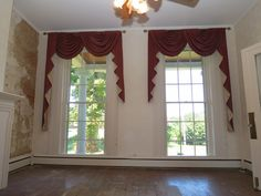 Another view of the front parlor of this historic home in Eighty Four, PA #BrowneeHouseRehab #WashPA