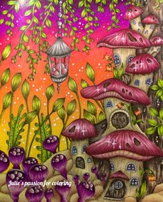 Magical delights - Klara Markova Colored by Julie's passion for coloring