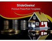 Invest In Houses Real Estate PowerPoint Templates And PowerPoint Backgrounds 0611