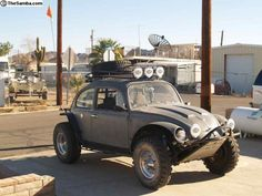 At $6,750, this is a well-appointed Baja Bug.