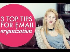 3 Top Tips for Email Organization. http://www.alexbeadon.com/2014/02/25/3-top-tips-for-email-organization/