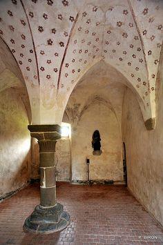 Le Parloir de l'Abbaye Notre-Dame de Hambye - Manche - Basse Normandie