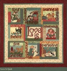 Love Is Quilt