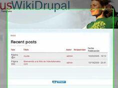 10.- Curso de Drupal práctico. Creación de una Wiki II