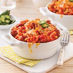 Macaroni à la mexicaine - Soupers de semaine - Recettes 5-15 - Recettes express 5/15 - Pratico Pratique